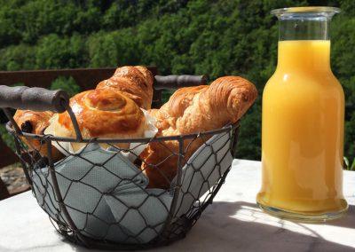 Viennoiseries du petit déjeuner