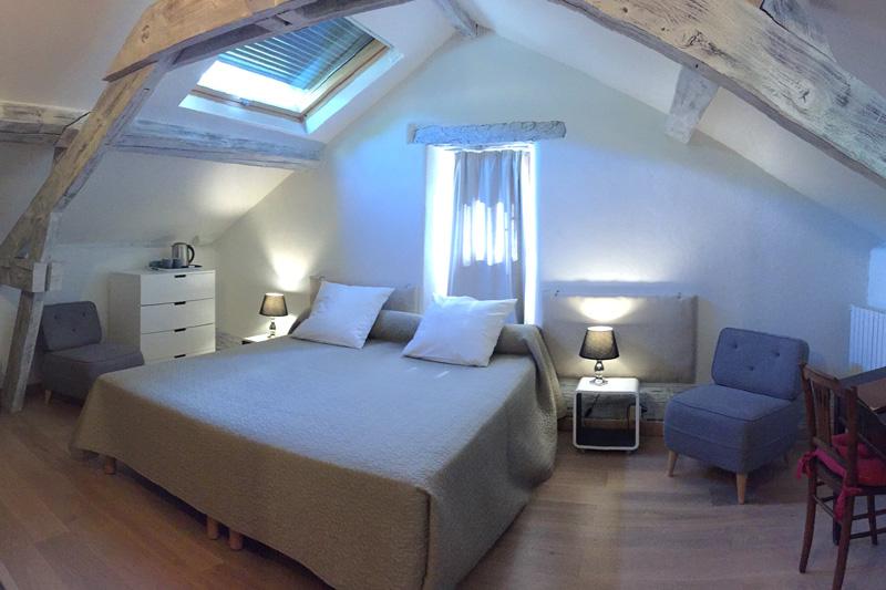 La chambre Donjon, refaite à neuf