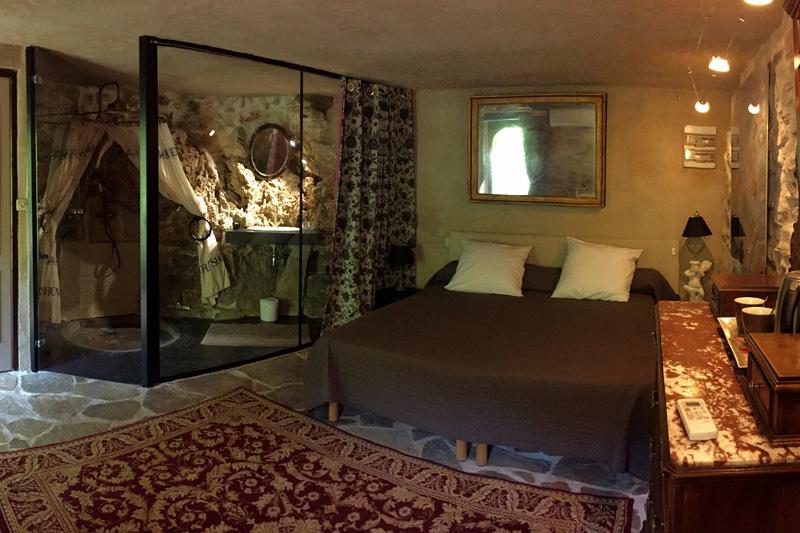 Chambre Rococo, lit king-size